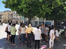 Verano Codinan 2016, actividad organizada por el Colegio de Nutricionistas de Andalucía para la promoción de consejos nutricionales y cálculo del IMC.