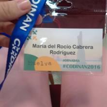 JORNADAS CODINAN 2016 HUELVA
